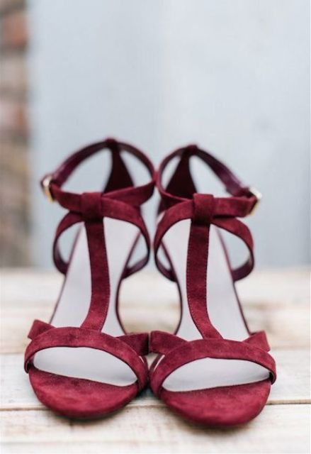 Picture Of marsala wedding ideas  13