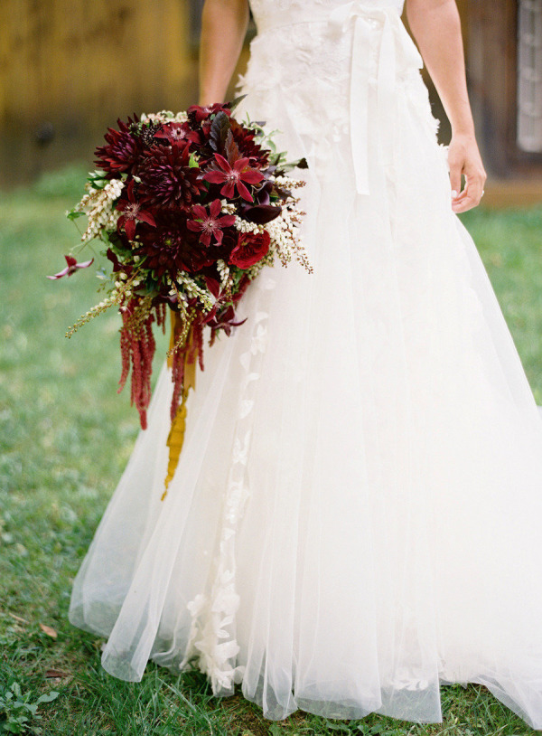 Picture Of marsala wedding ideas  24