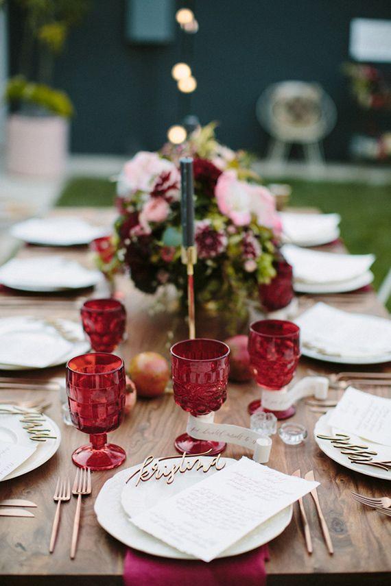 Picture Of marsala wedding ideas  3