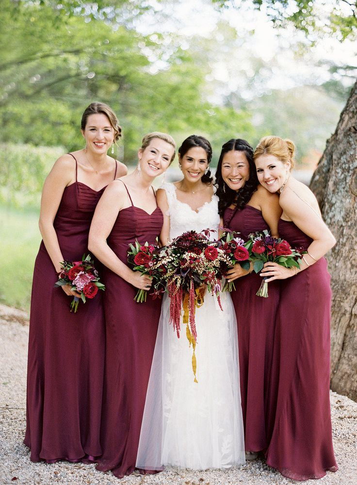 Picture Of marsala wedding ideas  8