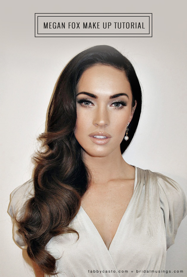 Megan Fox Makeup Diy For Your Wedding