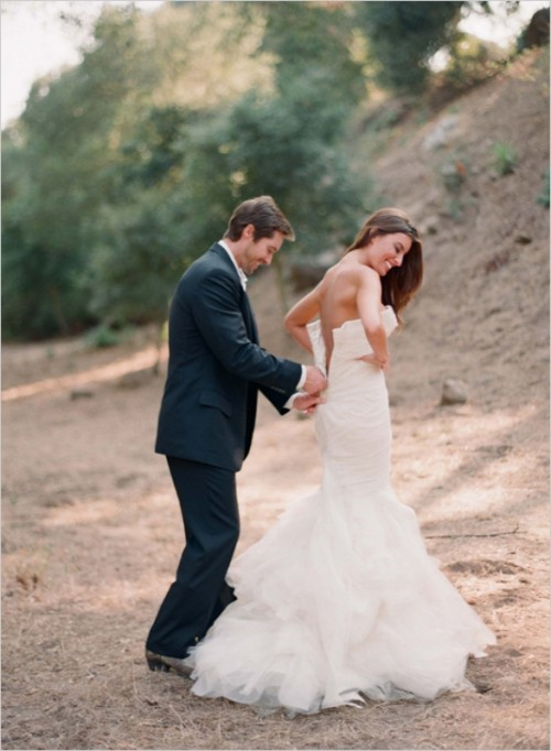 25 Mermaid Style Wedding Gowns Inspiration