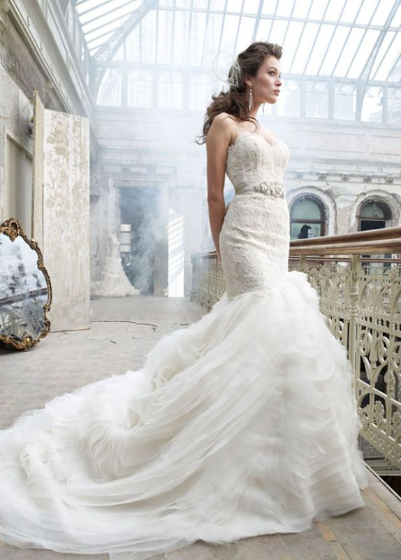 Mermaid Style Wedding Gowns Inspiration