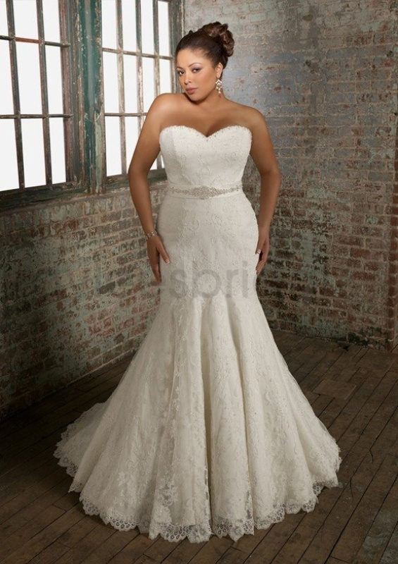 wedding dresses mermaid style