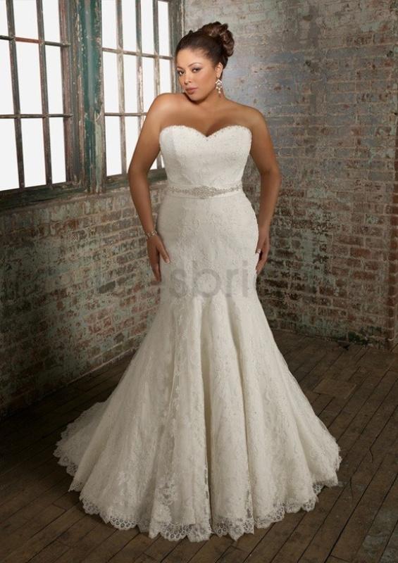 25 Mermaid Style Wedding Gowns Inspiration - Weddingomania