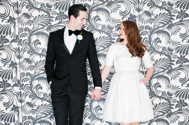 Mid Century Modern Wedding In Palm Springs