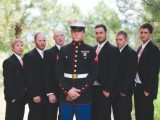 Military Wedding With Rustic And Vintage Touches