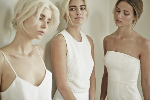 Minimalist Elegance Of Dresses By Charlotte Simpson Bridal