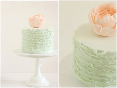 Minimalistic And Chic Hello Naomi Wedding Cakes