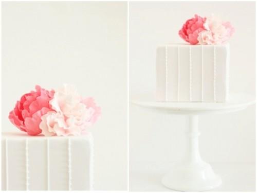 Minimalistic And Chic Hello Naomi Wedding Cakes