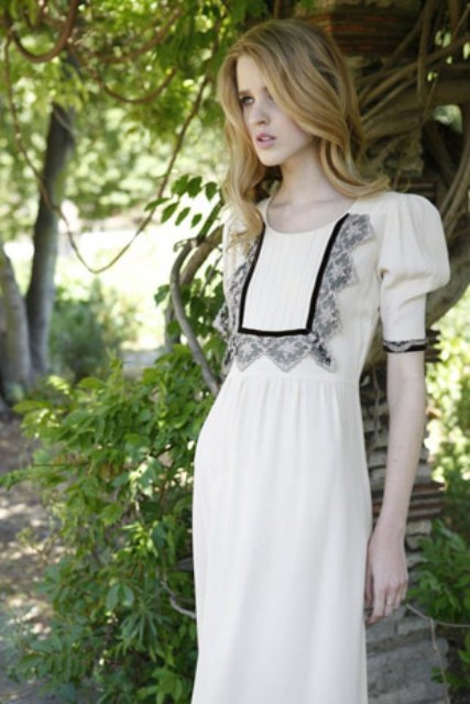 Picture of minna 60 s and 70s inspired boho wedidng dresses for 70s inspired wedding dress