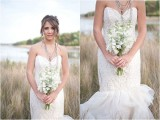 Mint And Lavender Beach Wedding With Vintage Touches