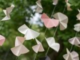 Modern And Easy Diy Geometric Garland For Your Wedding Decor
