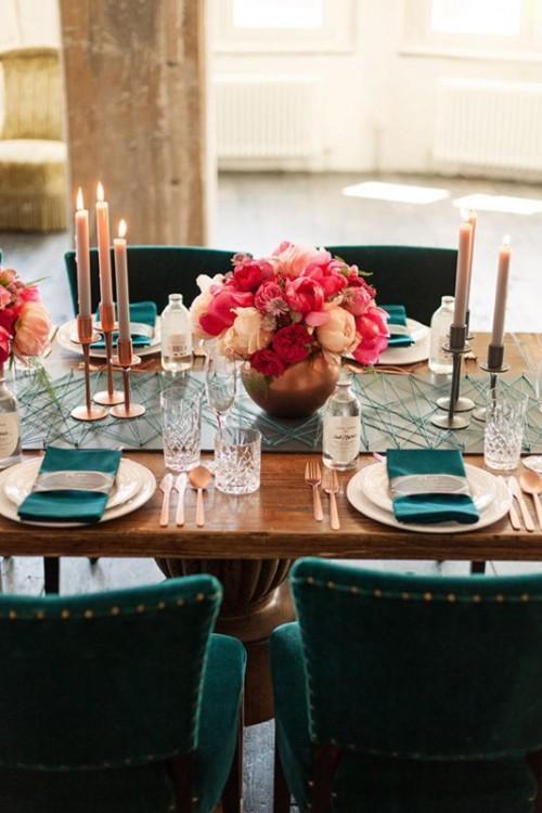 Modern And Elegan Urban Wedding Inspiration