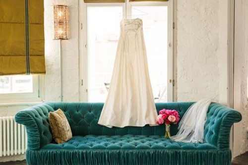 Modern And Elegant Urban Wedding Inspiration