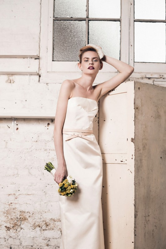 Picture Of modern and romantic muscat london 2016 bridal collection  10