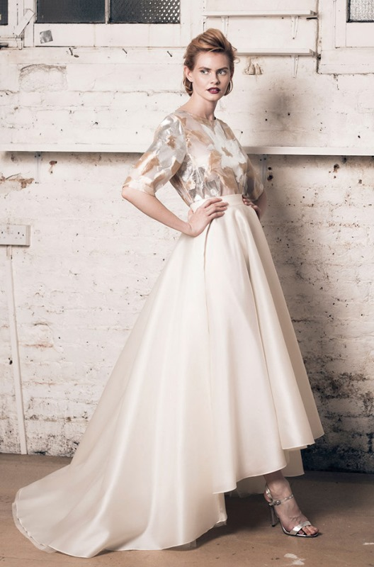 Picture Of modern and romantic muscat london 2016 bridal collection  4