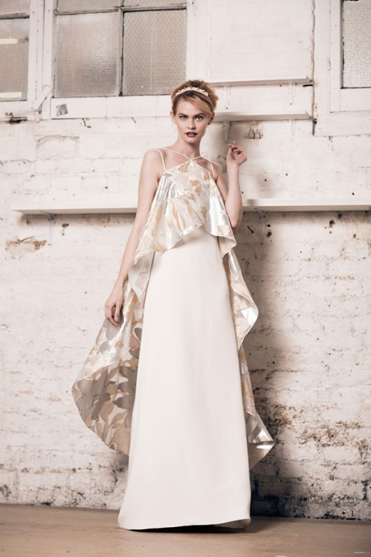 Picture Of modern and romantic muscat london 2016 bridal collection  5