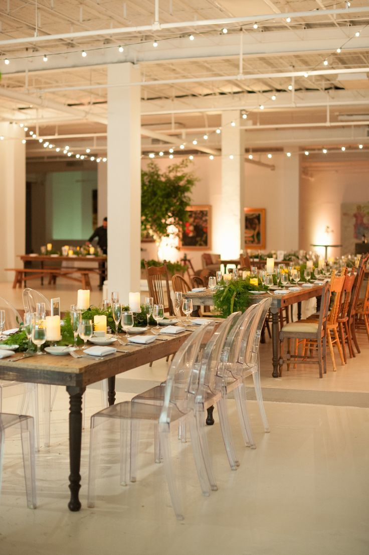 Picture Of Modern Art Gallery Wedding Full Of Personality 13