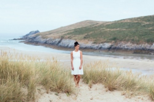 Modern Beach Wedding Inspiration In Cornwall, England