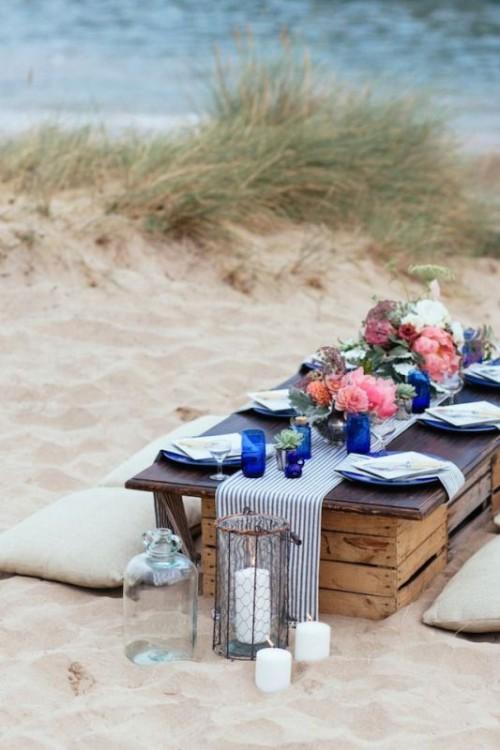 Modern Beach Wedding Inspiration