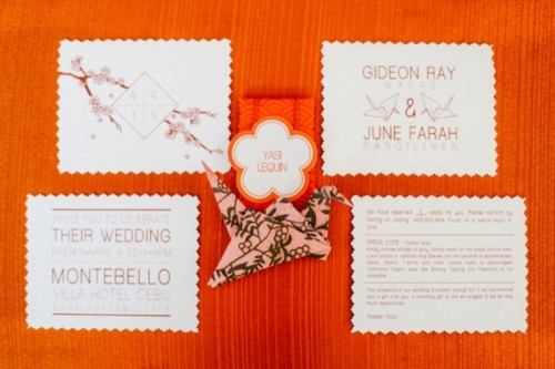 Modern Japanese Wedding With Intricate And Unique DIY Details
