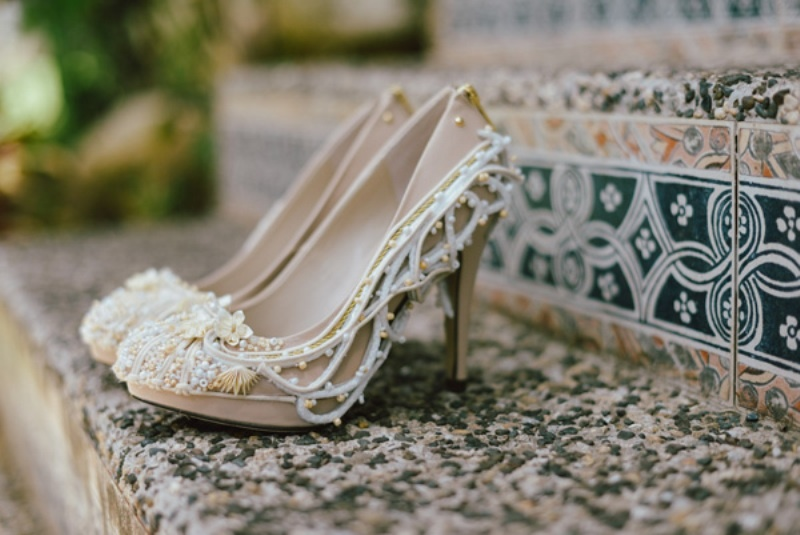 Picture Of modern japanese wedding with intricate and unique diy details  6