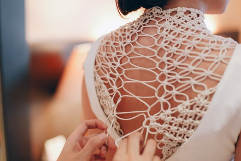 Picture Of modern japanese wedding with intricate and unique diy details  7