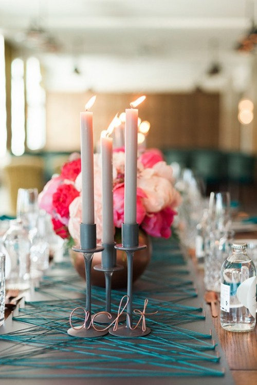 Modern Meets Vintage Wedding Shoot With Stunning Peonies