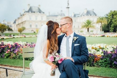 Glamorous Paris Elopement With An Impeccable Taste