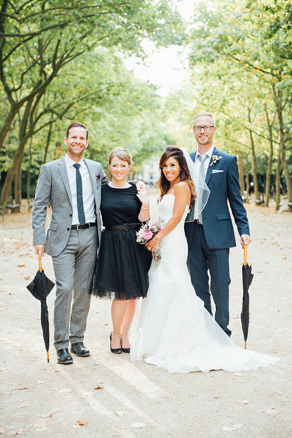 Picture Of modern paris elopement with an impeccable taste  16
