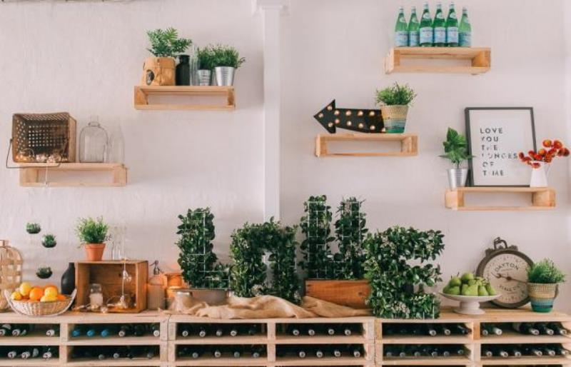Picture Of modern wedding inspiration with lots of greenery  15