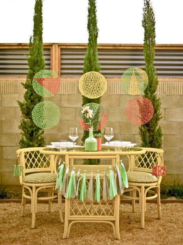 Modernly Chic Palm Springs Wedding Inspiration