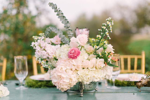 Monet Water Lilies Themed Wedding Shoot