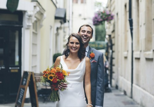Multicolored Travel-Themed Wedding In Bristol