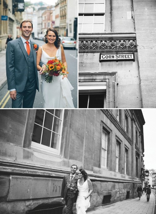 Multi Colored Travel Themed Wedding In Bristol