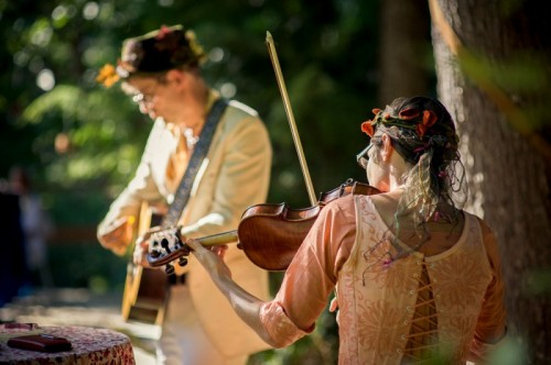 Mystical Midsummer Night Dream Wedding In The Forest