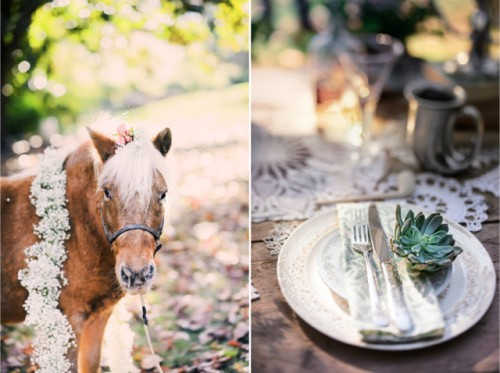 Natural And Beautiful Hobbit Themed Wedding