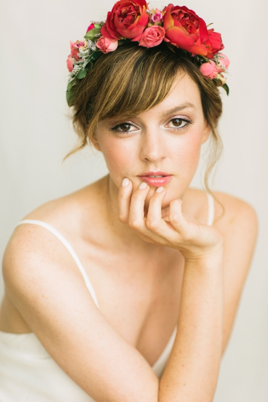 Picture Of natural yet refined diy wedding makeup to get ...