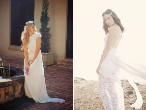 Naturally Beautiful Boho Wedding Dresses By Grace Loves Lace