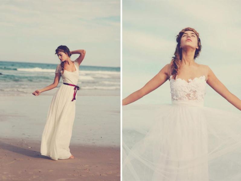 Bohemian Lace Wedding Dresses 29 Great Naturally Beautiful Boho Wedding