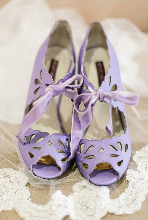 Navy And Purple Gatsby Inspired Wedding