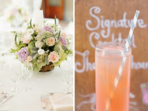 New York Vineyard Wedding With A Pastel Color Scheme