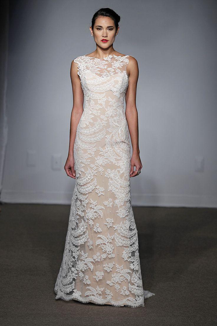 nude wedding dress