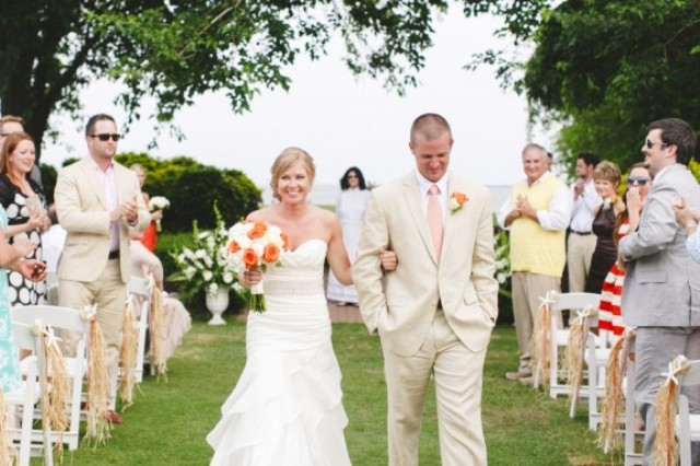 Picture Of orange beach wedding with a truly southern flavor  14