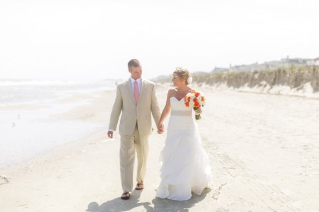 Picture Of orange beach wedding with a truly southern flavor  16
