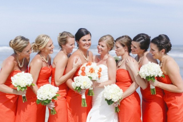 Picture Of orange beach wedding with a truly southern flavor  17