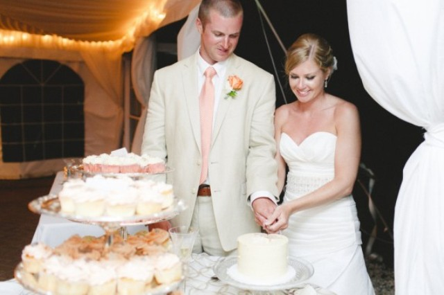 Picture Of orange beach wedding with a truly southern flavor  24