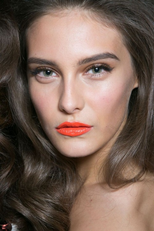 Orange Lips Ideas
