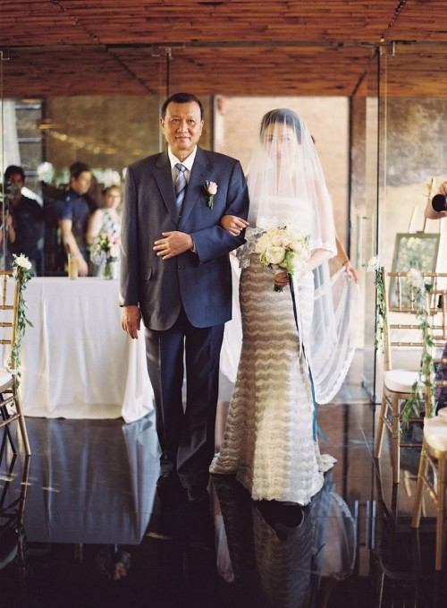 Organic Bali Destination Wedding With Blue Touches